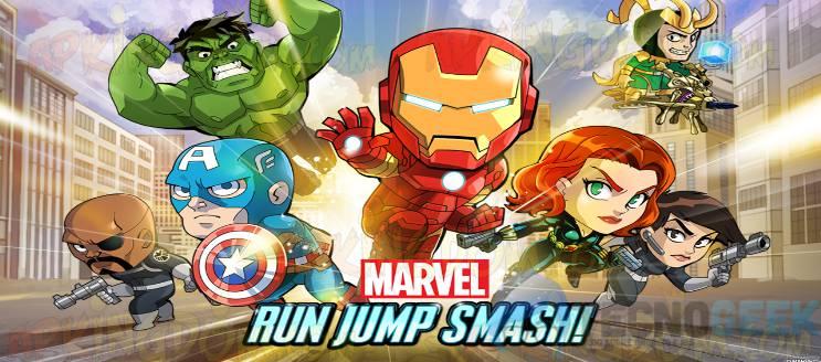 Marvel Run Jump Smash!: corre, salta y aplasta con tus héroes favoritos de Marvel