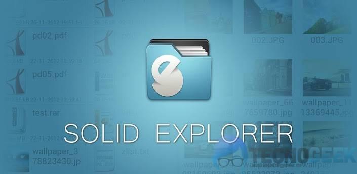 Solid Explorer, un potente administrador de archivos