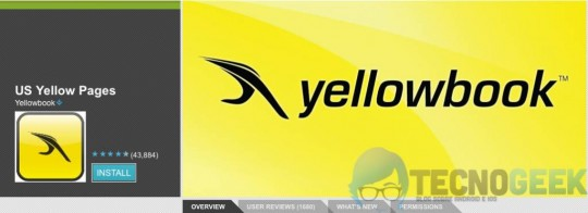 Yellowbook-Android