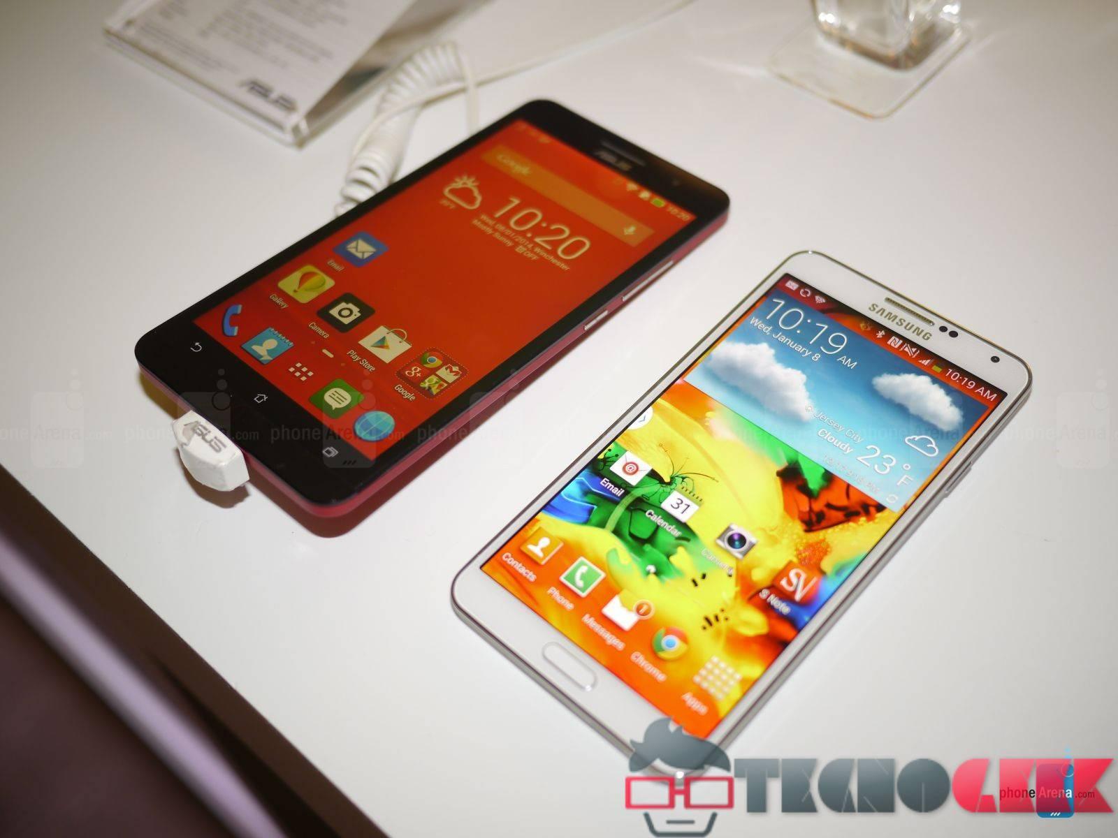 Comparativa Asus ZenFone 6 vs Samsung Galaxy Note 3