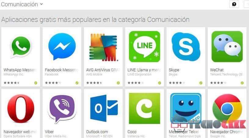 Las mejores aplicaciones de comunicación para Android