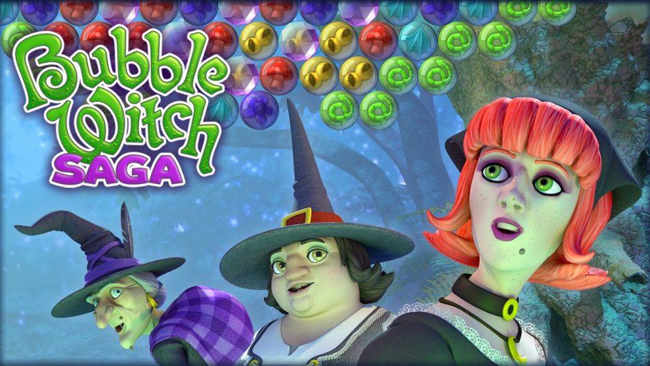 Bubble Witch Saga, divierte en este puzzle de brujas