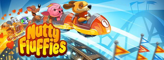 Nutty Fluffies Rollercoaster, conduce la montaña rusa más loca de Android