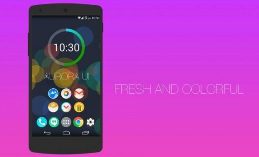Aurora-UI-Tunea-Android