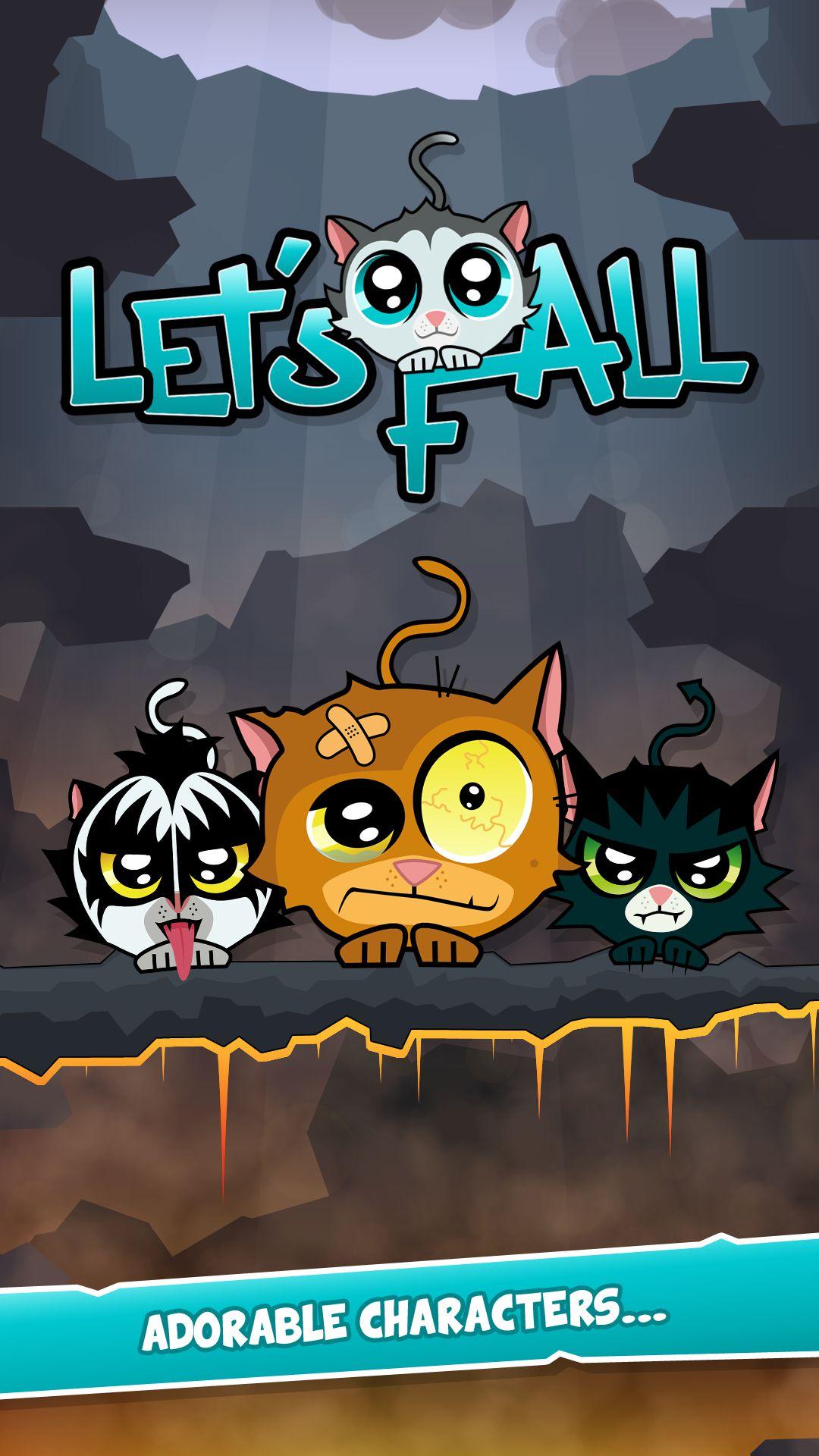 Lets Fall para Android, un entretenido juego para salvar gatitos