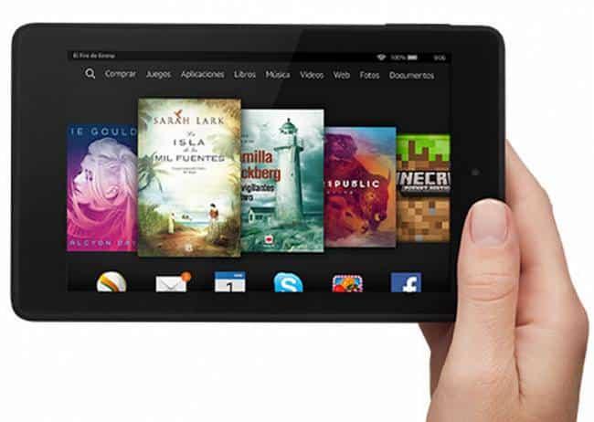 Amazon presenta su nueva gama de tablets Kindle Fire HD 2014
