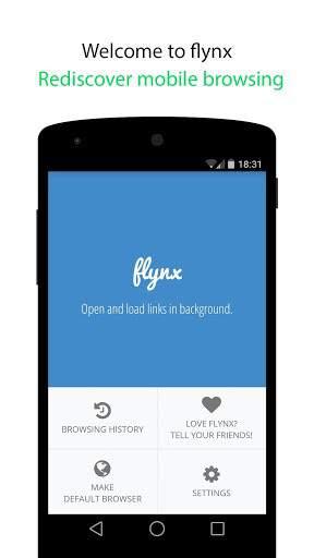 Flynx Browser, un navegador con multitarea y ventanas flotantes