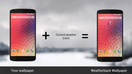 weather-wallpaper-android