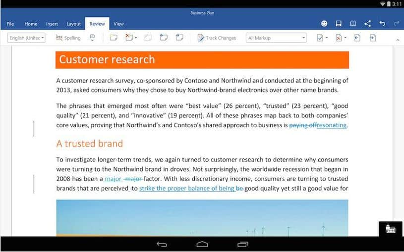 Descarga Microsoft Office para Android Beta [APK]