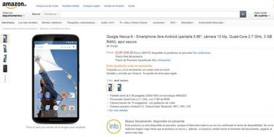 comprar-nexus-6-en-amazon