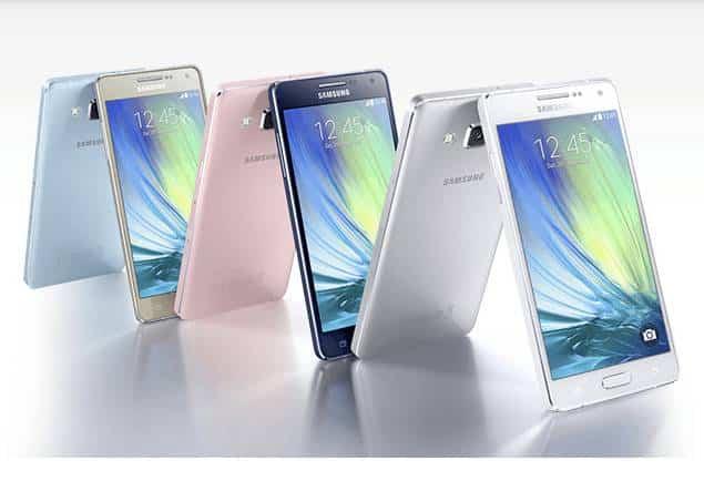 Samsung Galaxy A5 y A3 presentados oficialmente