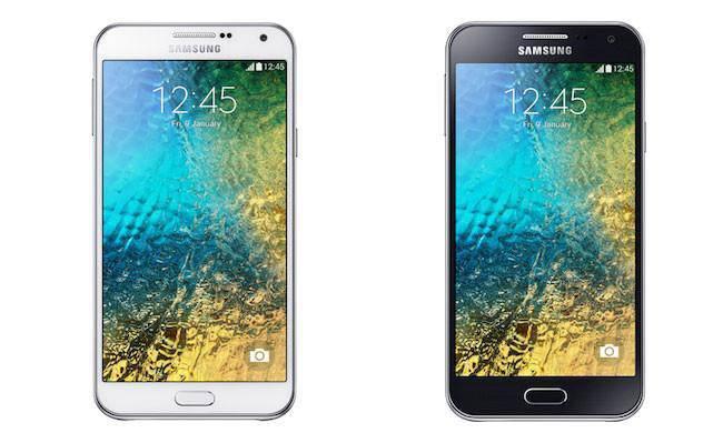 Nuevos y potentes Samsung Galaxy E5 y Galaxy S7