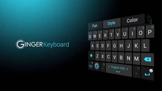 Ginger-Keyboard