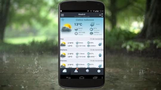mejores-aplicaciones-ver-tiempo-android
