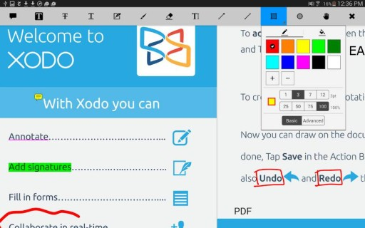 XODO-editor-pdf-android
