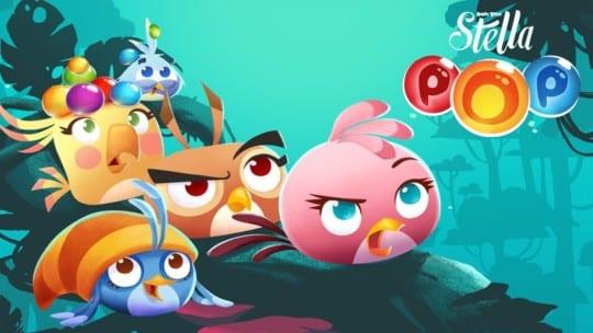 angry birds stella pop