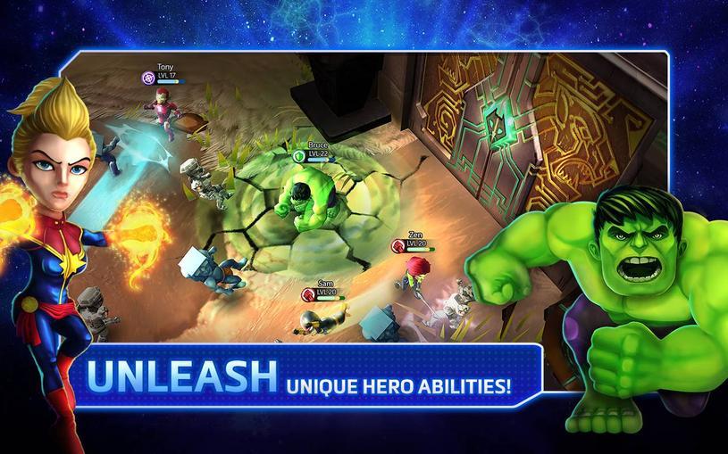 Descargar Marvel Mighty Heroes APK
