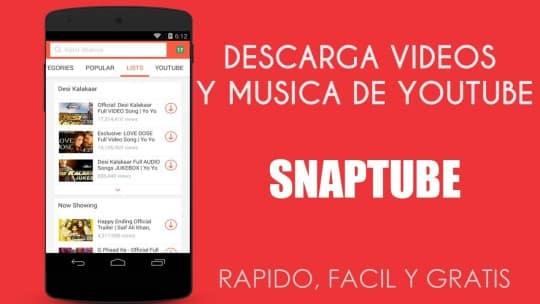 descargar-videos-android-snaptube