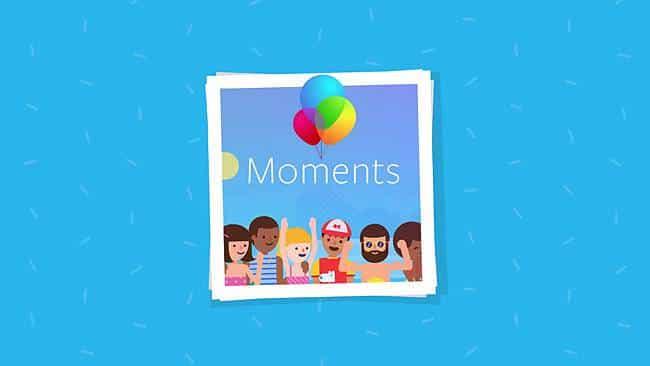 Facebooks Moments: crea álbumes, reconoce rostros y comparte fotos con tus amigos