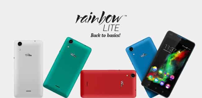 Wiko Rainbow Lite por sólo 109 euros