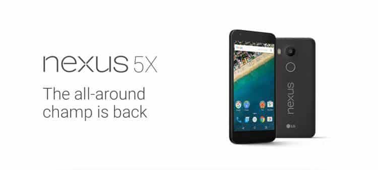 Conoce el nuevo smartphone: Google Nexus 5X
