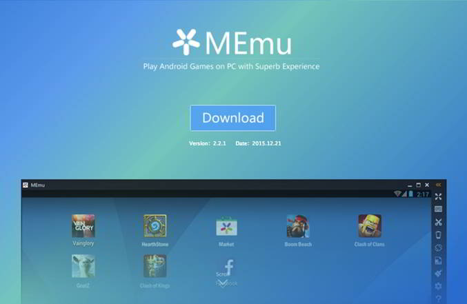 MEmu, el mejor emulador de juegos Android para Windows