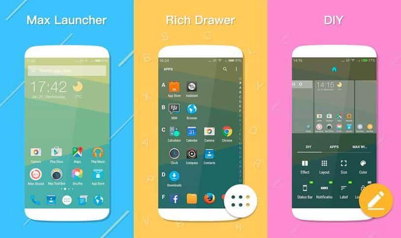 [APK] Max Launcher, magnífico launcher gratuito para Android