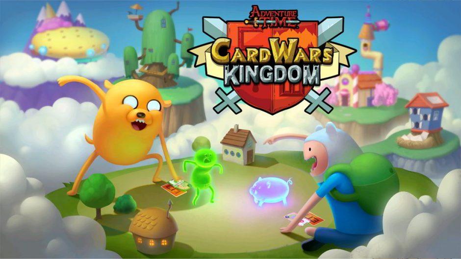 Guerra de Cartas: El Reino, nuevo juego de cartas de Hora de Aventuras