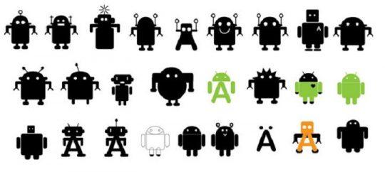 Propuestas de Logo para Android de Irina Blok