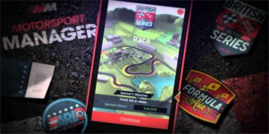 Motorsport Manager Handheld
