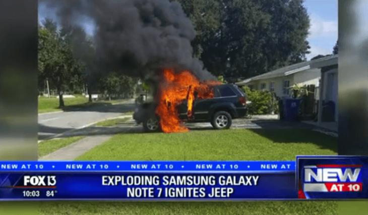 INCREIBLE: Este smartphone hizo que un auto explotara