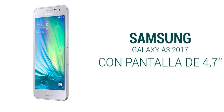 Samsung Galaxy A3 2017: nuevos datos de su inminente llegada