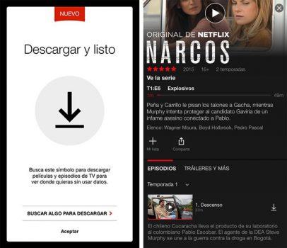Cómo guardar las películas o series de Netflix en la tarjeta SD