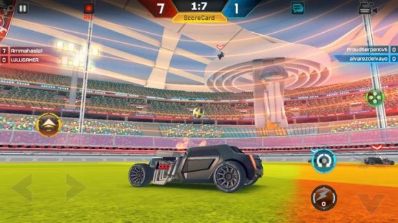 FÚTBOL CON COCHES: Turbo League, la alternativa a Rocket League en Android