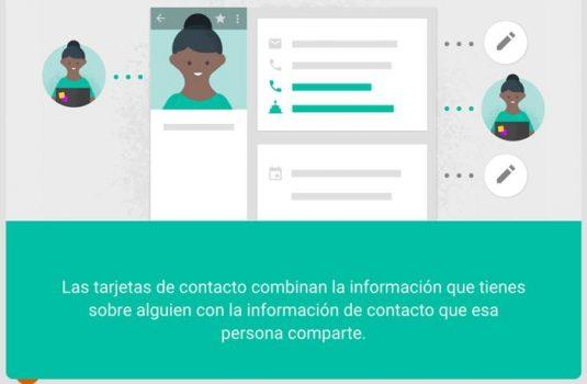 Google contactos ahora tiene versión web