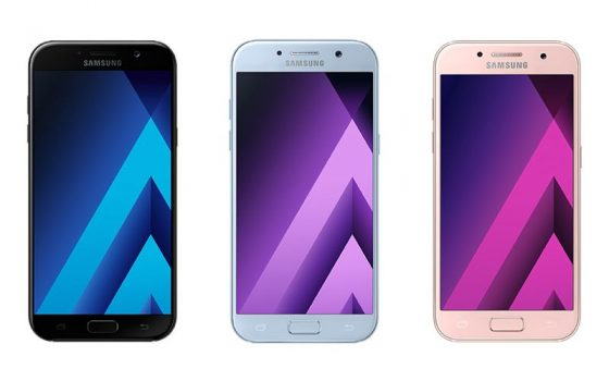 Galaxy A5 y A7 (2018)