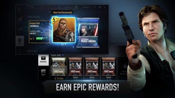 QUE LA FUERZA TE ACOMPAÑE: Disponible Star Wars Force Arena para Android
