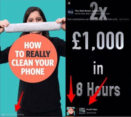 La publicidad llegará a los vídeos de Facebook muy pronto
