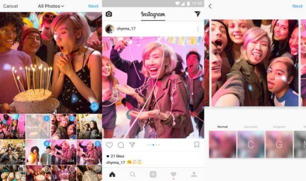 Instagram agrega los álbumes para fotos