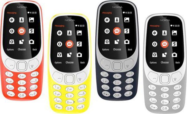 COMO AVE FENIX: El Nokia 3310 ha resucitado en el MWC 2017