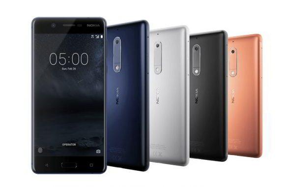 Nokia 3, Nokia 5 y Nokia 6, la nueva gama de móviles asequibles
