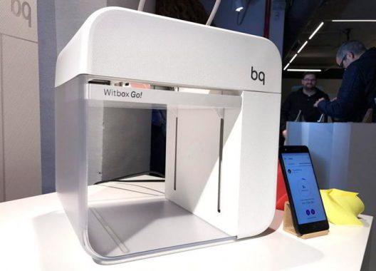 BQ Witbox Go!, la primera impresora 3D con Android