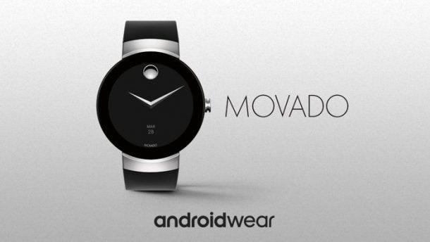 Relojes de lujo con Android Wear