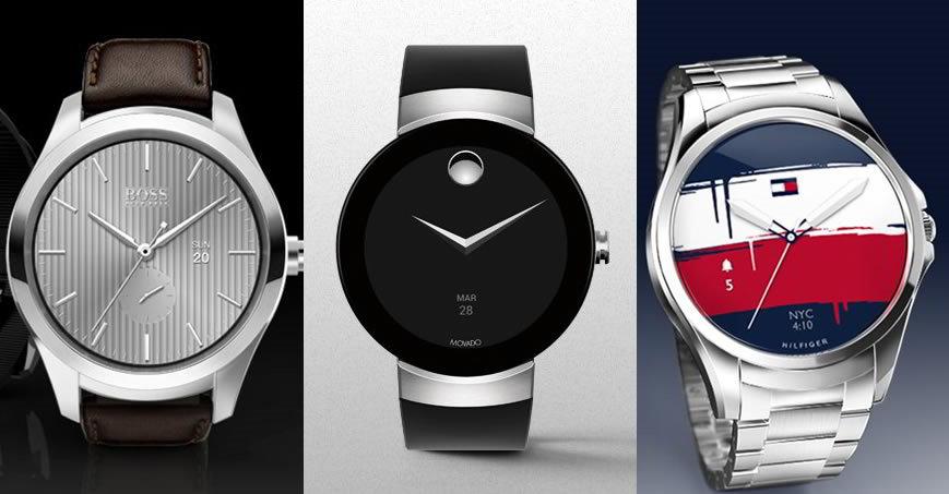 Tommy Hilfiger, Hugo Boss y Movado presentan sus primeros relojes con Android Wear
