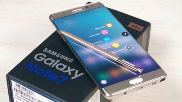 El Galaxy Note 7 volverá a estar a la venta