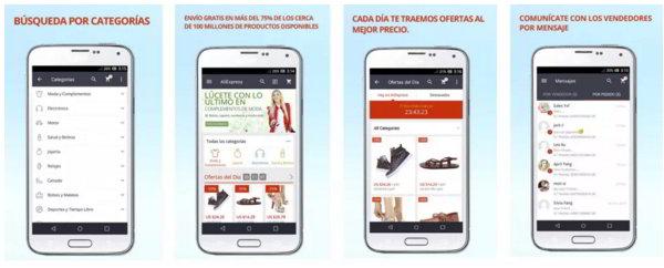 Compra gadgets desde tu móvil con Aliexpress