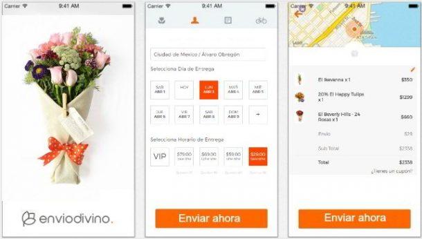 Esta app te lleva tus flores a casa con un solo click