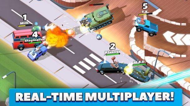 Crash of Cars, batallas de coches en tiempo real