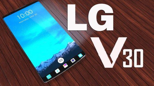 LG V30 podría traer una pantalla OLED curva