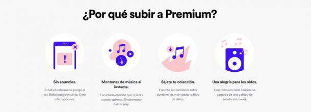 Spotify Premium a mitad de precio para estudiantes